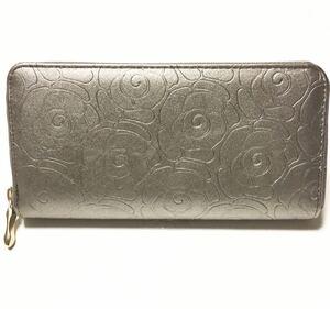 長財布 ラウンドファスナー長財布 メンズ財布 レディース 財布 誕生日 プレゼント SALE メタリック