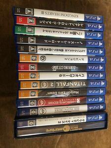 PS4 ソフト 16本 まとめ売り プレイステーション4