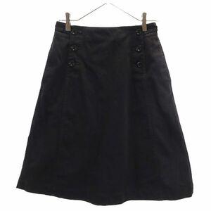 エムエイチエル 台形 スカート 1 ブラック MHL. マーガレットハウエル レディース 210405