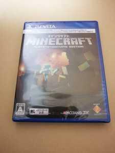 新品 PlayStation Vita PS Vita マインクラフト Minecraft