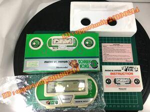 ドンキーコング3 未使用 1984'マイクロVSシステム ゲームウォッチ 任天堂 送込 おまけ:偏光板/電池付き Nintendo DONKEY KONG 3 GAME&WATCH