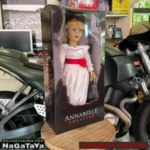 新品 メズコトイズ アナベル 死霊館の人形/ アナベル ドール プロップ レプリカ ホラー雑貨 オカルト映画 死霊 悪魔