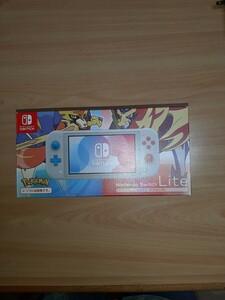 Nintendo Switch Lite ザシアン・ザマゼンタ ポケモンデザイン
