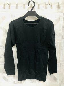 XIXIV メンズ コンプレッションウェア 加圧シャツ Lサイズ ブラック