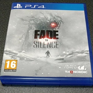 Fade to Silence (輸入版) - PS4 フェード トゥ サイレンス