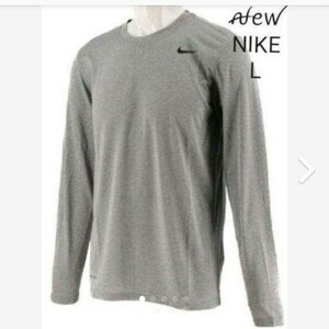 新品¥3300 NIKE ロングスリーブシャツ L