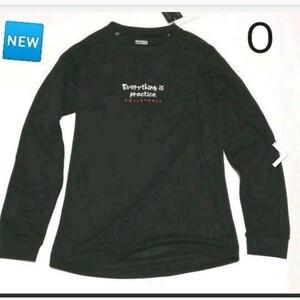 新品 ロングスリーブシャツ O ブラック