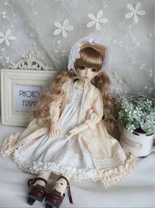アウトフィット ドレス セット ドール 人形 bjd 1/4 MSD ⑤