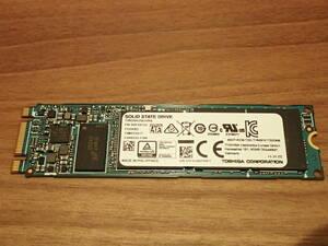 即決!!使用427時間 東芝製SSD 256GB M.2 SATA SSD THNSNK256GVN8