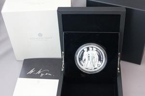 2020 イギリス ロイヤルミント スリーグレーセス 5オンス 10ポンド 大型銀貨