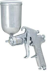 エアースプレーガン 1.3mm 上カップ 400ml 重力式 塗装ガン 塗料 0607 b