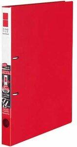 【未使用品】コクヨ ファイル リングファイル スリム 2穴 A4 180枚収容 赤 フ-URF420R×6冊セット