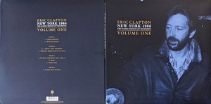 Eric CLAPTON エリック・クラプトン - New York 1986:The Classic Broadcast Recording Vol 1/2 各二枚組限定アナログ・レコード・セット