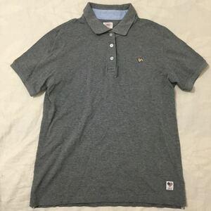J.PRESS REDLABEL ポロシャツ グレー サイズ表記なし