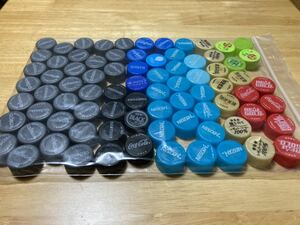 ペットボトルキャップ 80個 工作 おもちゃ作り