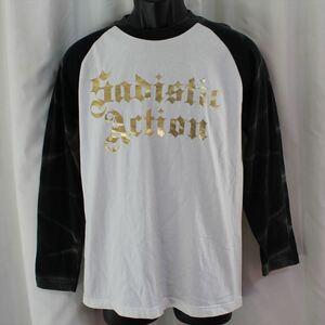 サディスティックアクション SADISTIC ACTION メンズ長袖Tシャツ Mサイズ NO32 新品