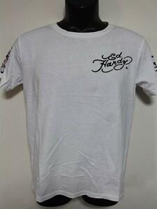 Ed Hardy(エドハーディー) メンズ半袖Tシャツ M02RST950 ホワイト 新品 白 NEW YORK CITY
