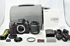 ★カメラバッグ付★ ニコン Nikon デジタル一眼レフカメラ D300 レンズセット ■ A-22FE21-995