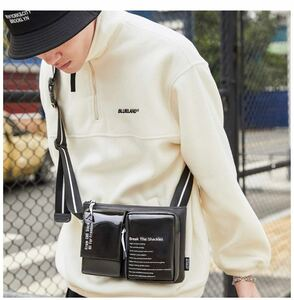 ウエストバッグボディバッグ ショルダーバッグ 斜め掛けバッグおしゃれ軽量防水大容量ワンショルダー 斜めがけバッグ多機能男女兼用