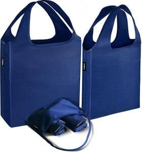【2020製 3枚入り】エコバッグ 折りたたみ レジカゴバッグ ポケッタブルバッグ コンビニ用サイズ 収納 大きめ 小さめ 防水素材 大容量 軽量