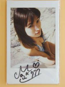 【七海マキ 直筆サイン入り DVD「秘蜜の時間…」現場 生チェキ】