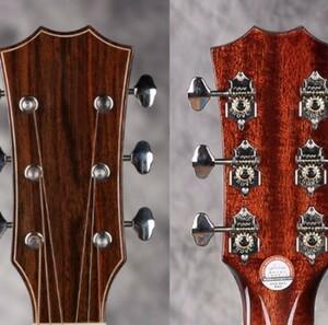 Mp4106:グローバースタイル ギター弦チューナー 3R3Lオープンギア チューニングペグマシンヘッド