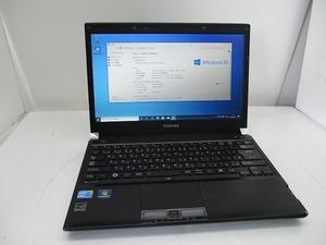 △東芝 dynabook R730/B PR730BENN3CA51 Core i3 M380 2.53GHz 4GB 250GB 13.3インチ HD 1366×768 Windows10 Pro 64bit
