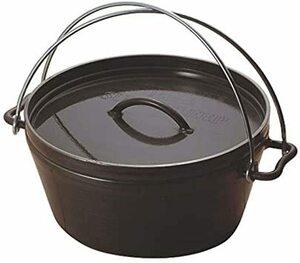 クリアラッカー焼付塗装 鍋径:約26.0×11(深さ)cm ユニフレーム (UNIFLAME) UFダッチオーブン10インチ 6