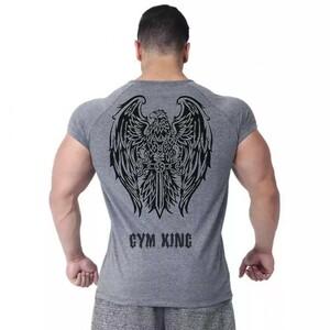 メンズ Tシャツ 半袖 ジムウェア トレーニングウェア ボディービル