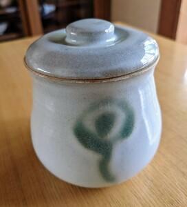 陶器 蓋付き容器 ハンドメイド