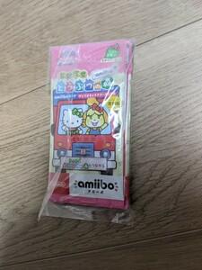 とびだせどうぶつの森amiibo+  サンリオコラボ 5パック