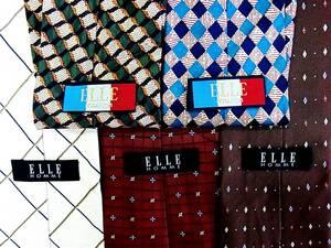 ★4280★SALE【全て・ エル【ELLE】 ネクタイ・5本セットで!超お買得!】ネクタイ③★