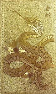 【白蛇 × 抜け殻 × 金運アップ】 風水 カード型のお守り 精神 祈願 祈祷 おまじない 御守 開運 運気 グッズ