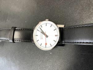 モンディーン MONDAINE・エヴォ アラーム 簡単操作のアラーム時計