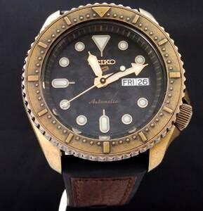SEIKO セイコー SEIKO5 Sports セイコーファイブ スポーツ 海外モデル SRPE80K 自動巻き ラバー×レザー メンズ 腕時計 店舗受取可