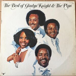 THE BEST OF GLADYS KNIGHT & THE PIPS LP盤