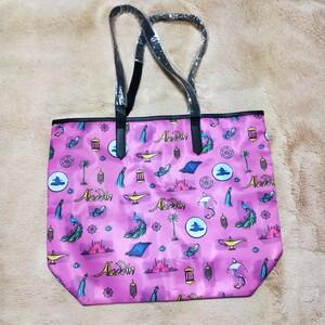 トートバッグ アラジン ディズニー Disney バッグ ブロードウェイ 限定品 限定 グッズ エコバッグ 未使用 レディース