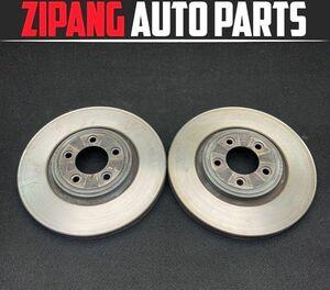 JG007 J71 Jaguar XJ latter term front brake rotor left right set *325mmΦ * degree so-so ** prompt decision *