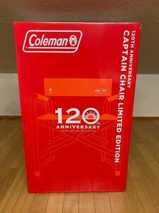 【新品・未使用】コールマン 120th アニバーサリー  キャンプ チェア