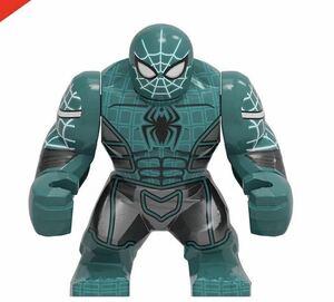 スパイダーマン 1体 サイズ7cm前後 マーベル アベンジャーズ ミニフィグ LEGO 互換 ブロック ミニフィギュア レゴ 互換 p