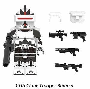 兵士 1体 スターウォーズ マンダロリアン ミニフィグ LEGO 互換 ブロック ミニフィギュア レゴ 互換 r