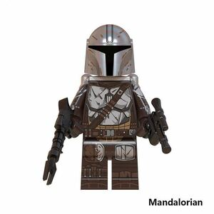 1体 マンダロリアン ミニフィグ LEGO 互換 ブロック ミニフィギュア レゴ 互換 e