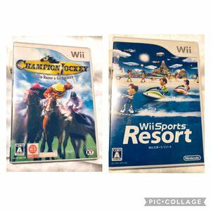 チャンピオンジョッキー Wii スポーツリゾート