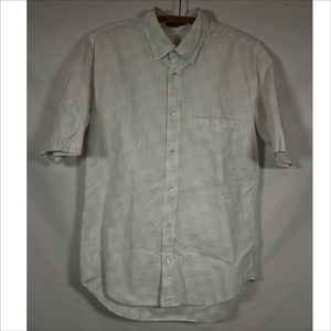 ISSEY MIYAKE MEN イッセイミヤケ 半袖シャツ サイズ3 綿 コットン 総柄/404211902