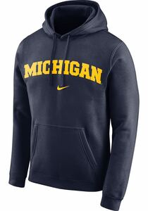 Nike Michigan Wolverines Blue Club Arch Pullover Fleece Hoodie dunk ナイキ ミシガン フーディ ダンク パーカー トレーナー