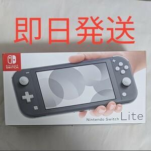 Nintendo Switch lite グレー 任天堂 ニンテンドー スイッチ ライト 本体