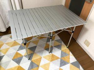 コールマン アルミロールテーブル 大型 ワイド