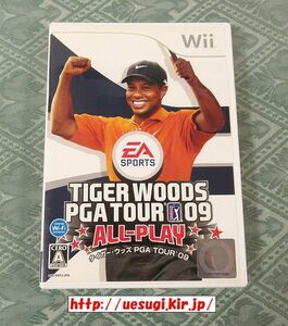Wii「タイガー・ウッズ PGA TOUR 09 ALL-PLAY」TIGER WOODS