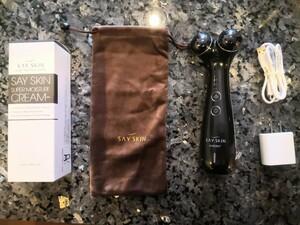 プラズマ美顔器 SAYSKIN AURORA+ オーロラプラス(専用クリームプレゼント)