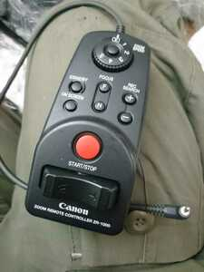 Canon ZOOM REMOTE CONTROLLER ZR-1000 リモートコントローラー 送料無料D01